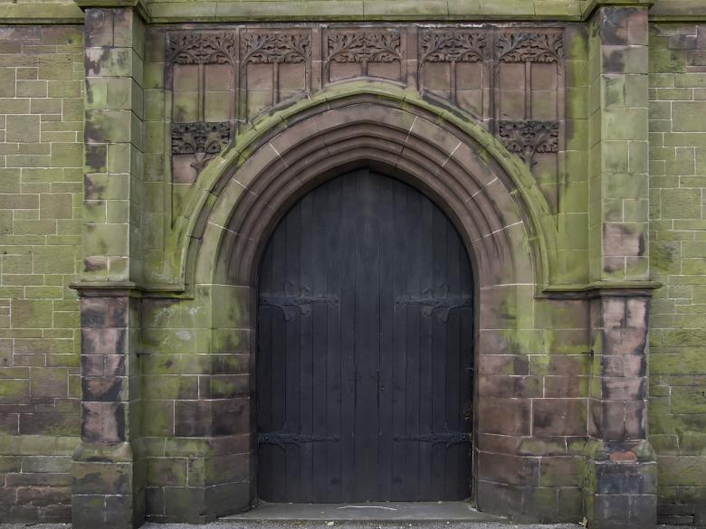 Free Stock Photo of Church Door Created by Elizabeth Gallagher
