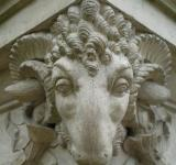 Free Photo - Ornate rams head
