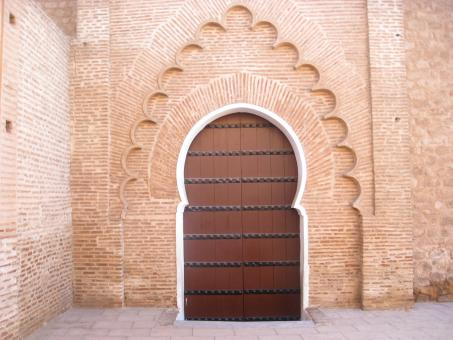 Moroccan Gate - Free Stock Photo