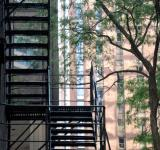 Free Photo - Chicago Fire Escape