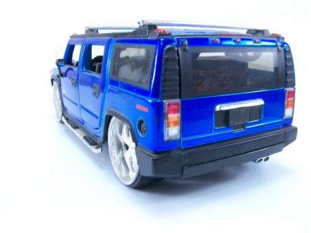 Blue hummer toy - Free Stock Photo