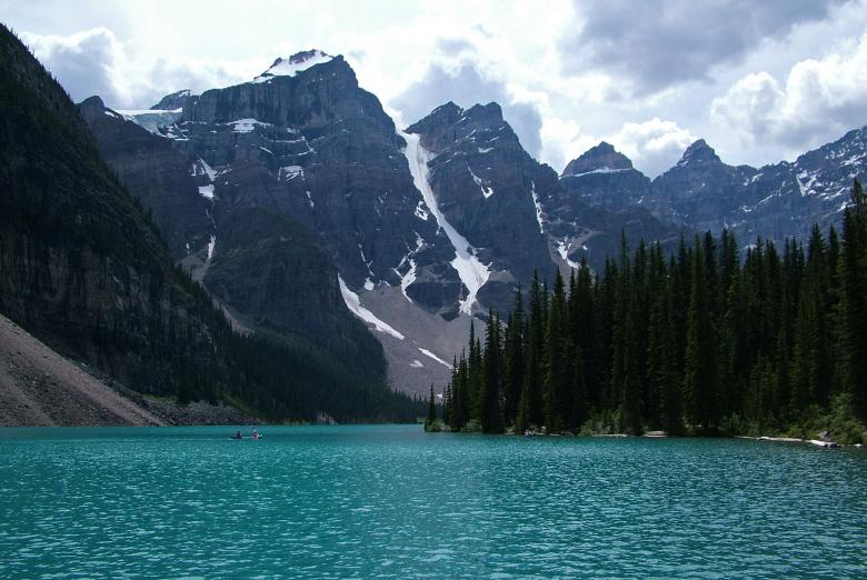 Free Stock Photo of Moraine Lake Created by Muzz