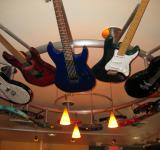 Free Photo - Guitar chandelier