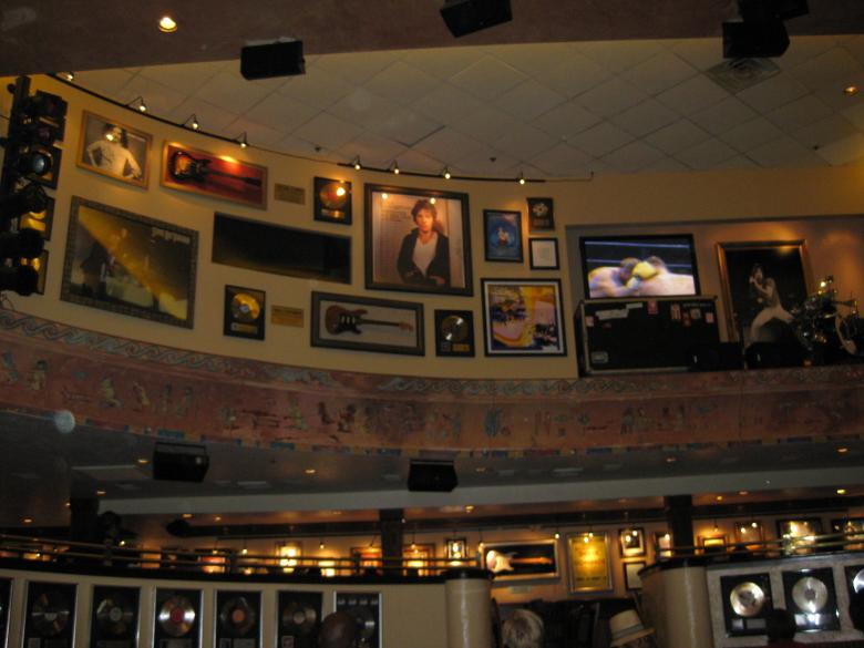 Free Stock Photo of Wall at the hardrock cafe Created by John Boker