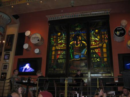 Hardrock cafe window - Free Stock Photo
