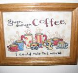 Free Photo - Coffee Cross-stitch