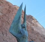 Free Photo - Statue at Hoover dam dedication