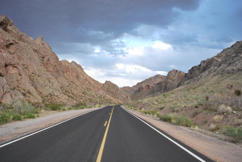 Free Stock Photo of Road to Valley of fire Created by James Beattie