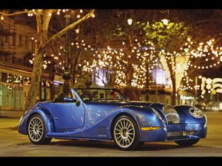 Blue sports car Free Photo