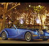 Free Photo - Blue sports car