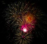 Free Photo - Fireworks night sky
