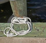 Free Photo - Rope and pier timber