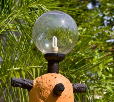 Bulb Outdoor Lamp - Free Stock Photo