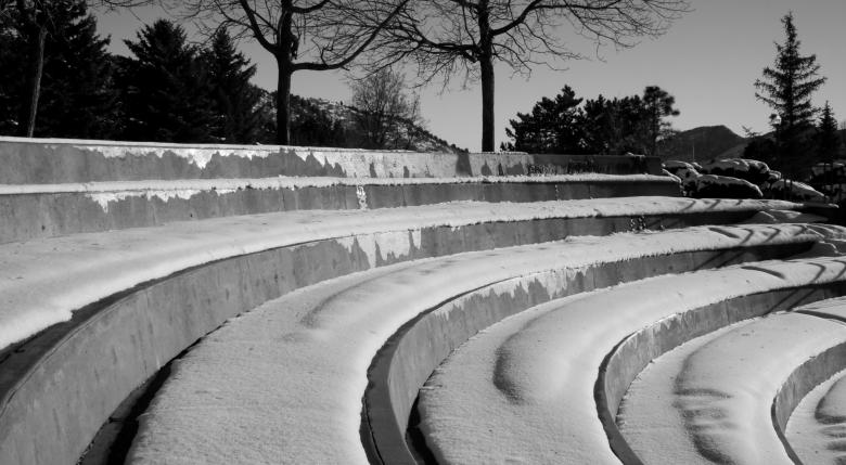 Free Stock Photo of Snowy steps Created by James Stewart
