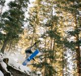 Free Photo - Backcountry Snowboard Air