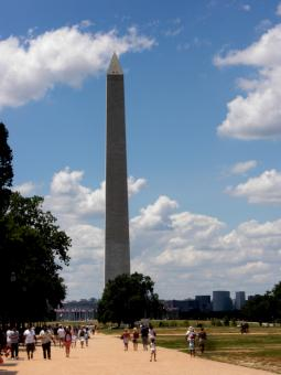 Washington Monument from the Mall - Free Stock Photo