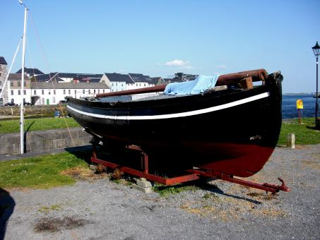 Galway Hooker - Fishing Vessel - Free Stock Photo