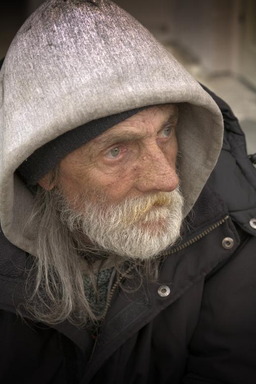 Free Stock Photo of Homeless Portraiture Created by Leroy Allen Skalstad