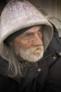Homeless Portraiture Free Photo