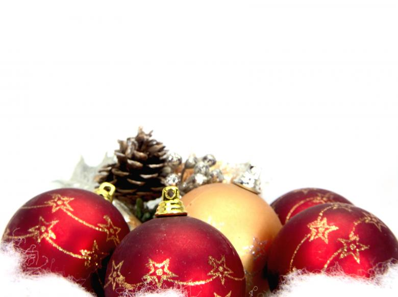 Free Stock Photo of Red christmas balls Created by homero chapa
