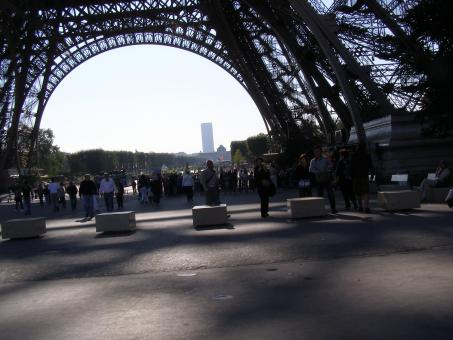 Paris - Effiel Tower - Base - Free Stock Photo