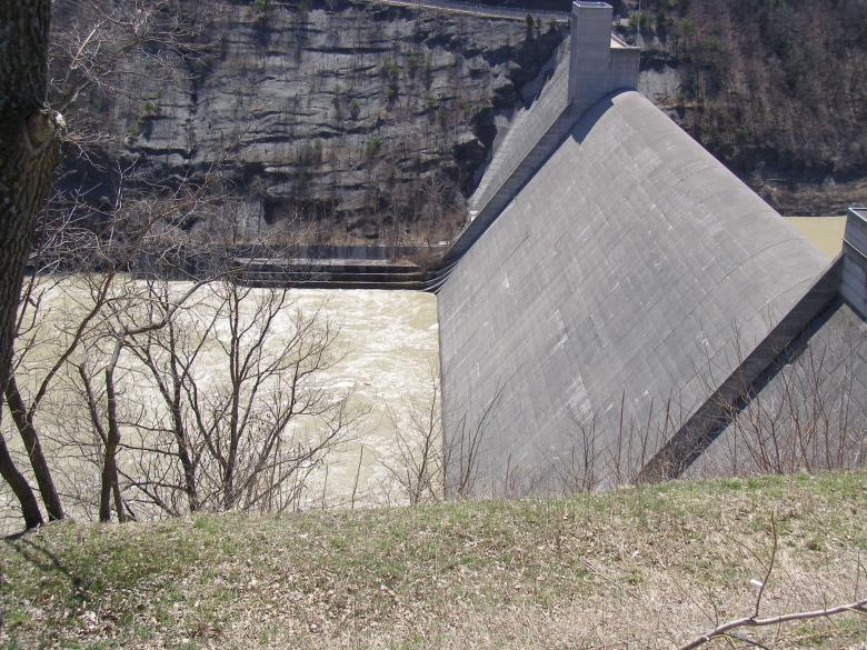 Free Stock Photo of Canada - Dam Overlook Created by The Nager Family