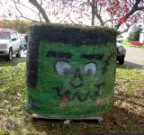 Free Photo - Frankenstien Hay Bail
