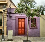 Free Photo - Purple house