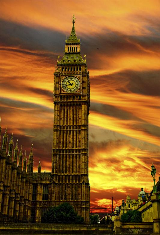 Free Stock Photo of Big Ben - London Created by Chris Cooper