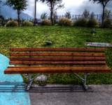 Free Photo - Park bench