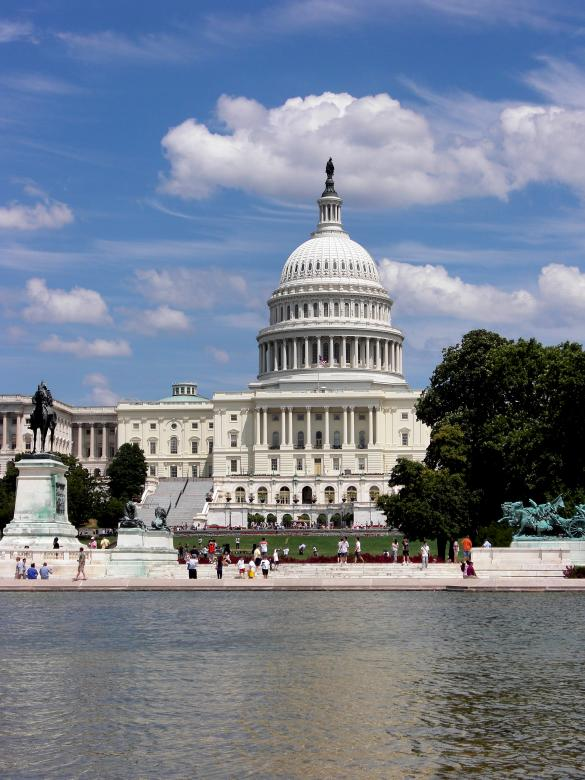 Free Stock Photo of Washington D.C. Capitol Building Created by Brian