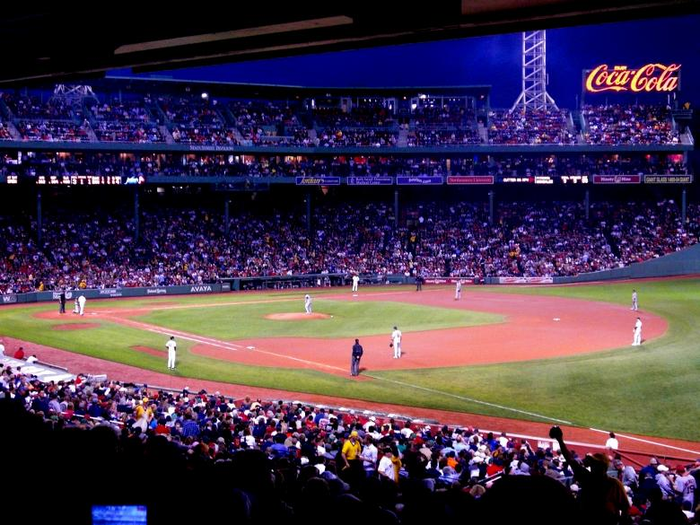 Free Stock Photo of Fenway Baseball Game Created by Brian