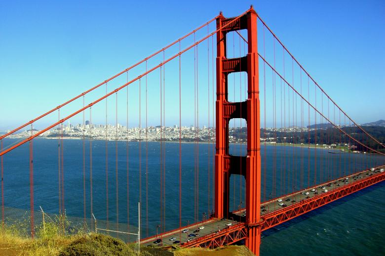 Free Stock Photo of San Francisco - Golden Gate Bridge Created by Brian