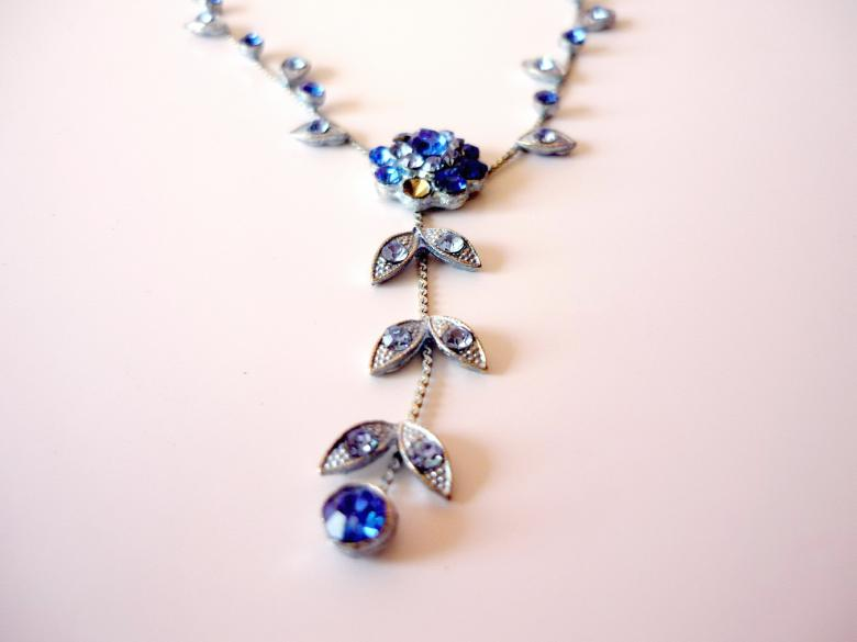 Free Stock Photo of Blue Necklace Created by Bilal Aslam