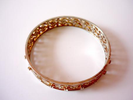 Gold Bangles - Free Stock Photo