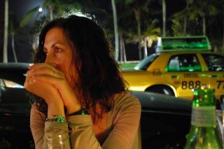 Enjoying Ocean Drive, Miami Beach, Janua Free Photo