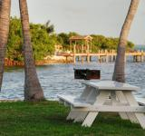 Free Photo - Bench in Islamorada