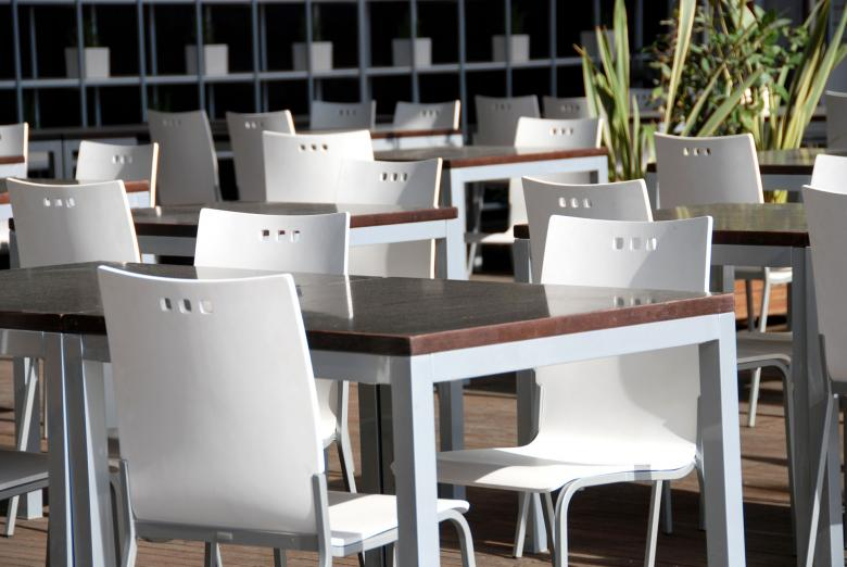 Free Stock Photo of Organized Tables, Valencia, Spain, March Created by Giovanni Gagliardi