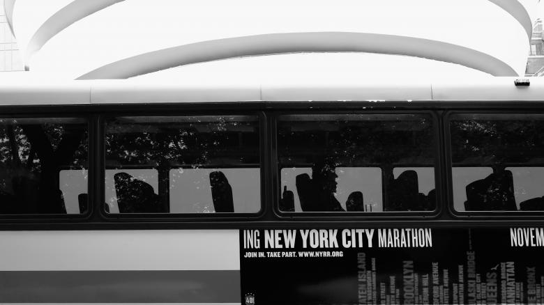Free Stock Photo of Bus in NYC Created by Andre Bogaert
