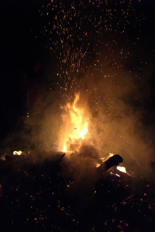 Free Stock Photo of Bonfire Created by Brian