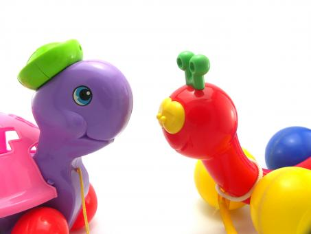 Pull toys - Free Stock Photo