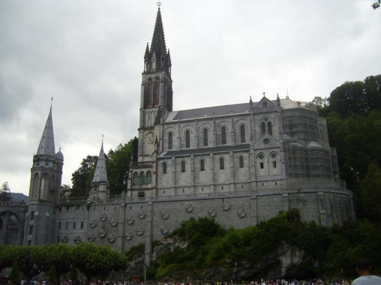 Free Stock Photo of Cathedral of Lourdes (France) Created by Jose