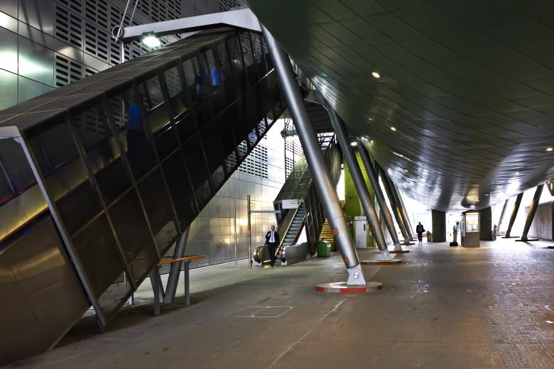 Free Stock Photo of DLR Station Created by Andre Bogaert