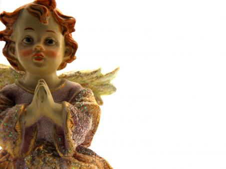 Ceramic angel - Free Stock Photo