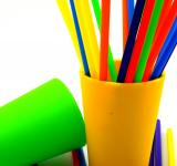 Free Photo - Colorful straws