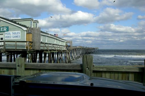 The Warped Avalon Pier - Free Stock Photo
