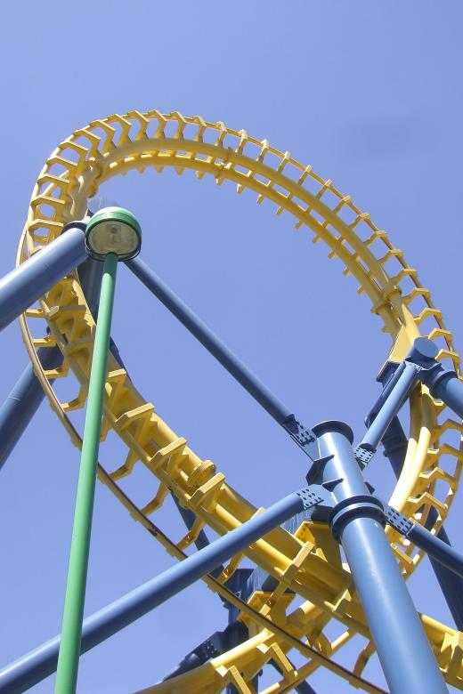 Free Stock Photo of Roller Coaster Created by Brian
