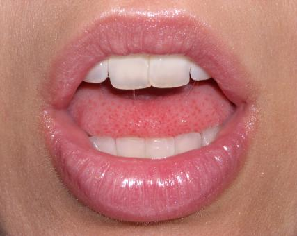 Lips with gloss - Free Stock Photo
