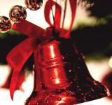 Free Photo - Red Christmas Bell
