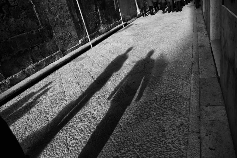 Free Stock Photo of Shadows of the Band Created by Andre Bogaert
